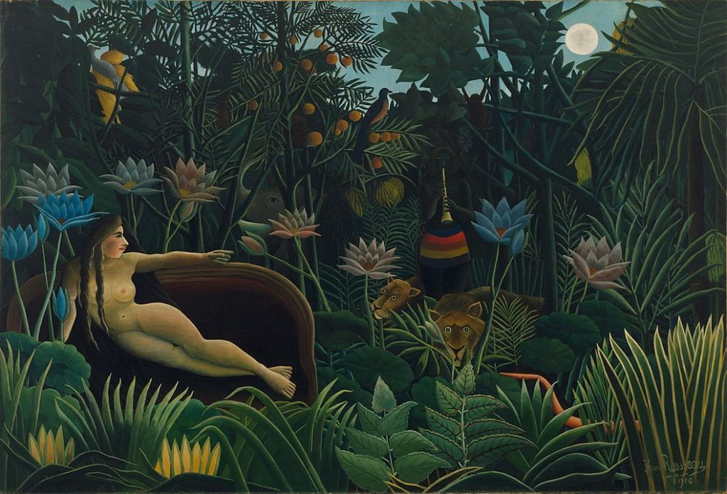 Henri Rousseau – Le Rêve. Museum of Modern Art