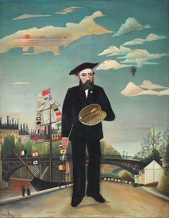 Myself: Portrait – Landscape, Henri Rousseau, National Gallery Prague