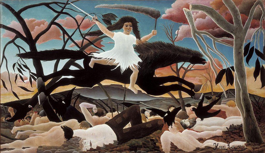 Henri Rousseau - La guerre, Musée d'Orsay