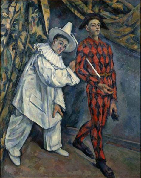 Mardi gras (Pierrot et Arlequin)