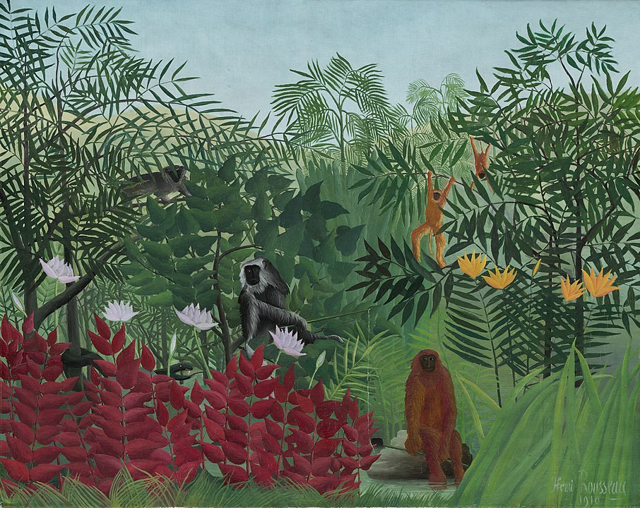Tropical Forest with Monkeys, Henri Rousseau, National Gallery of Art, Washington D.C.