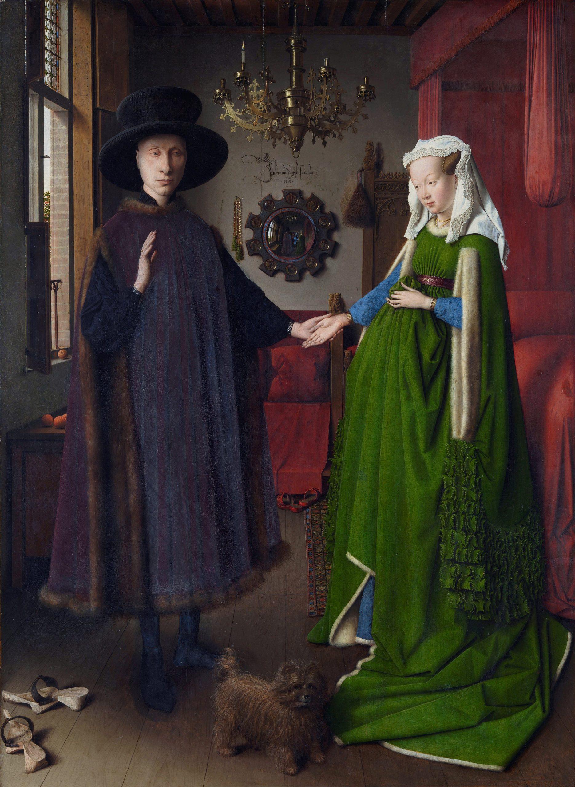 The Arnolfini Portrait Jan van Eyck National Gallery, London