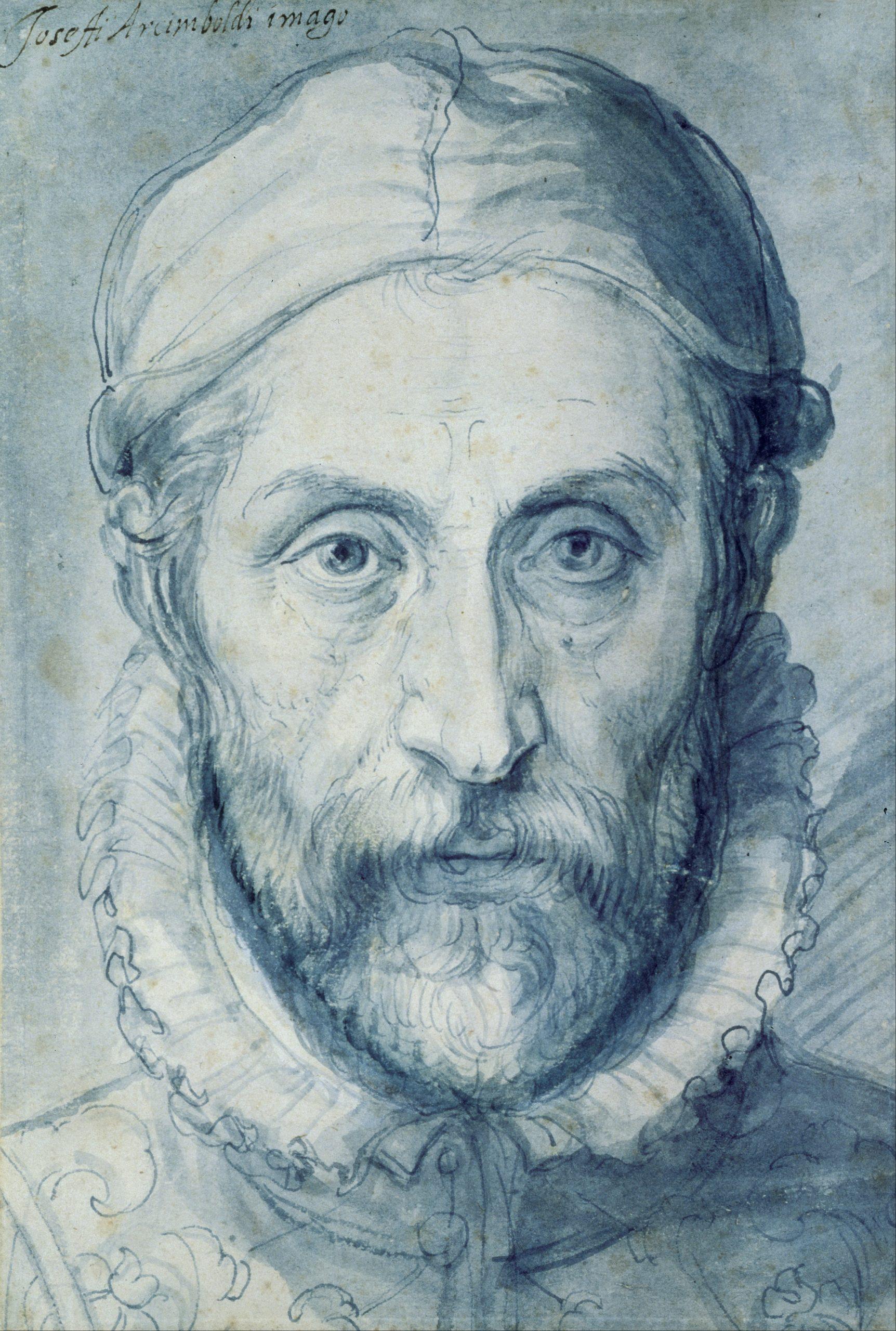 Giuseppe Arcimboldo, self portrait, 1570, National Gallery Prague