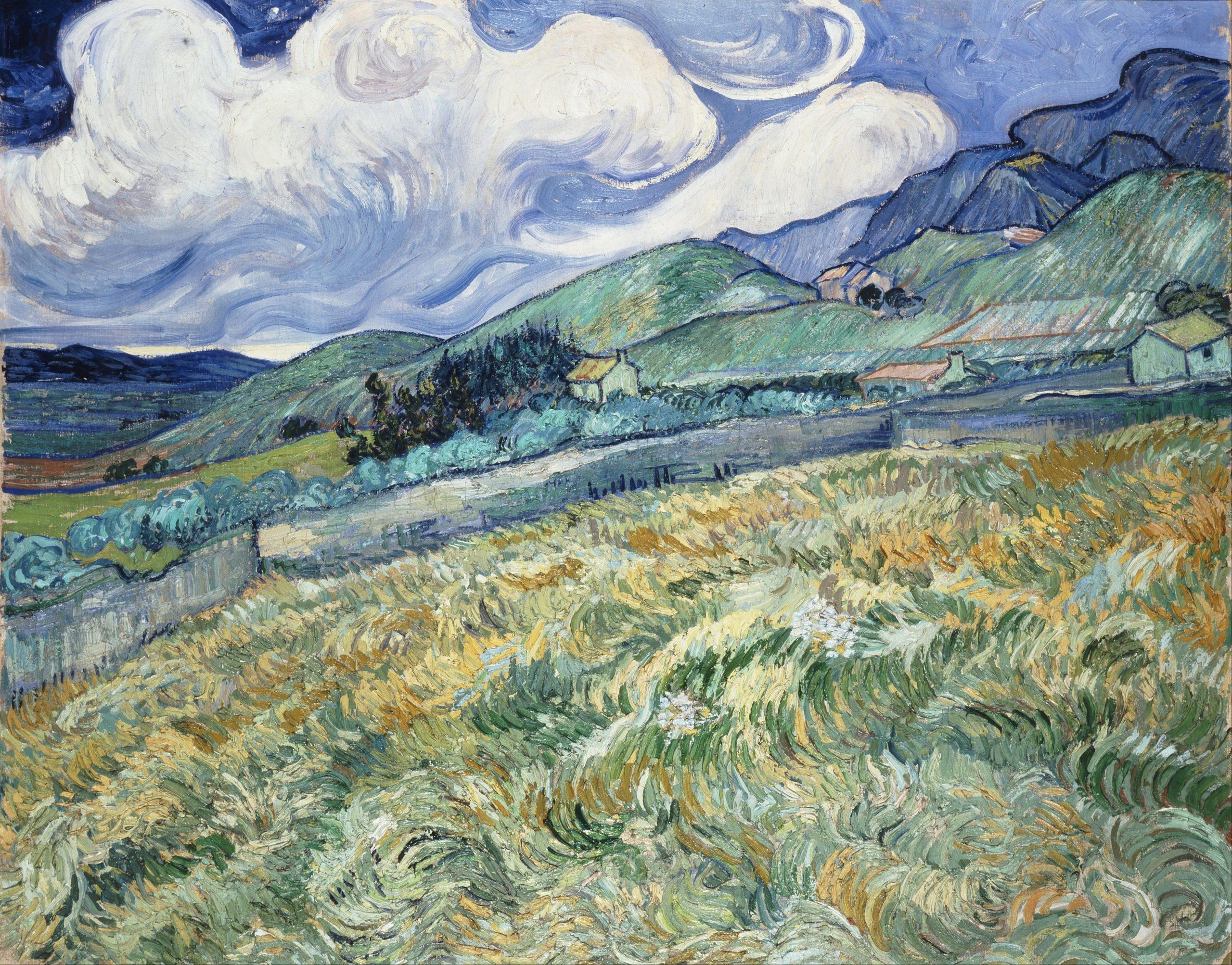 Mountainous Landscape from Saint-Rémy