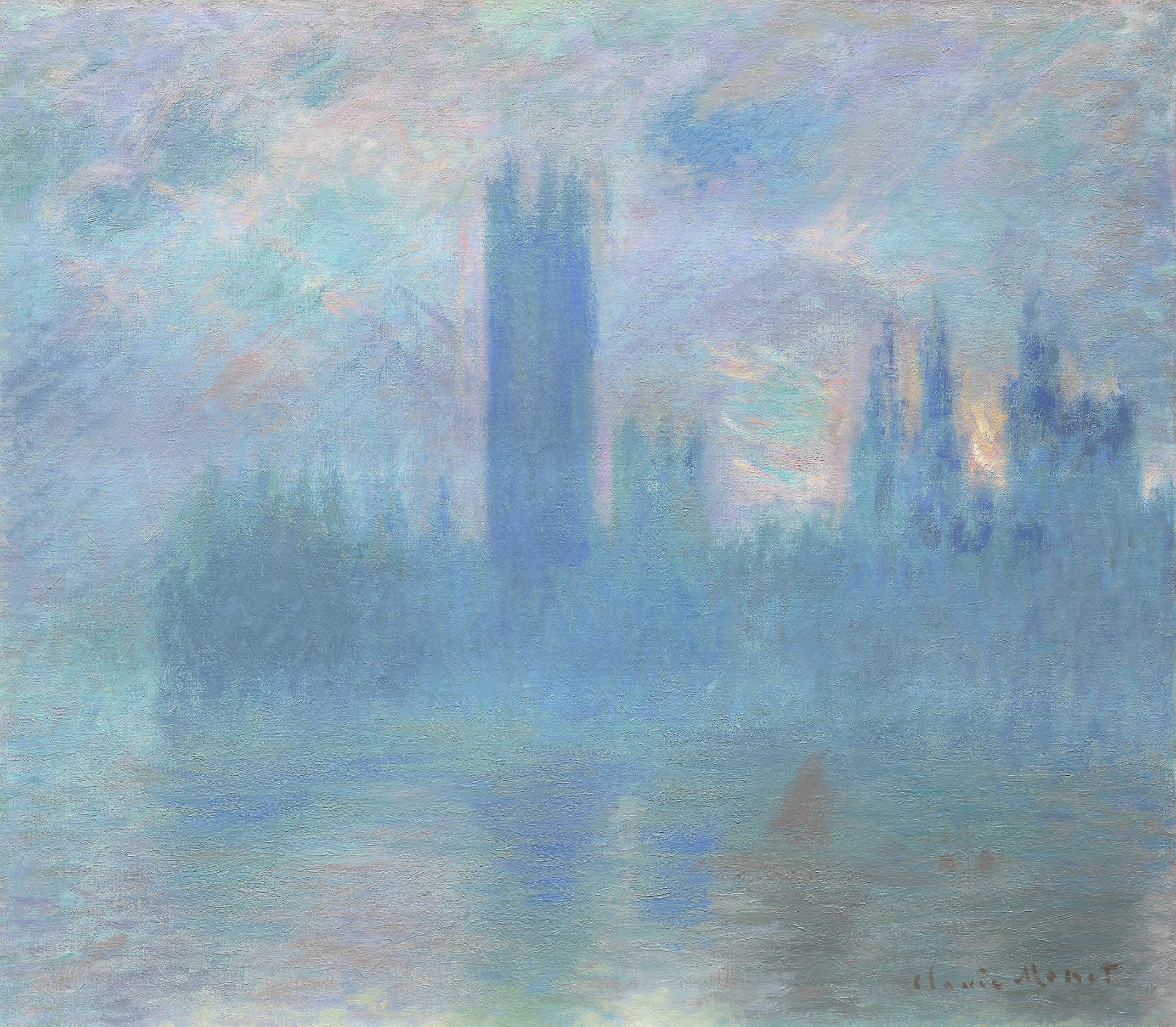 Houses of Parliament, London, 1900–1901 The Art Institute of Chicago