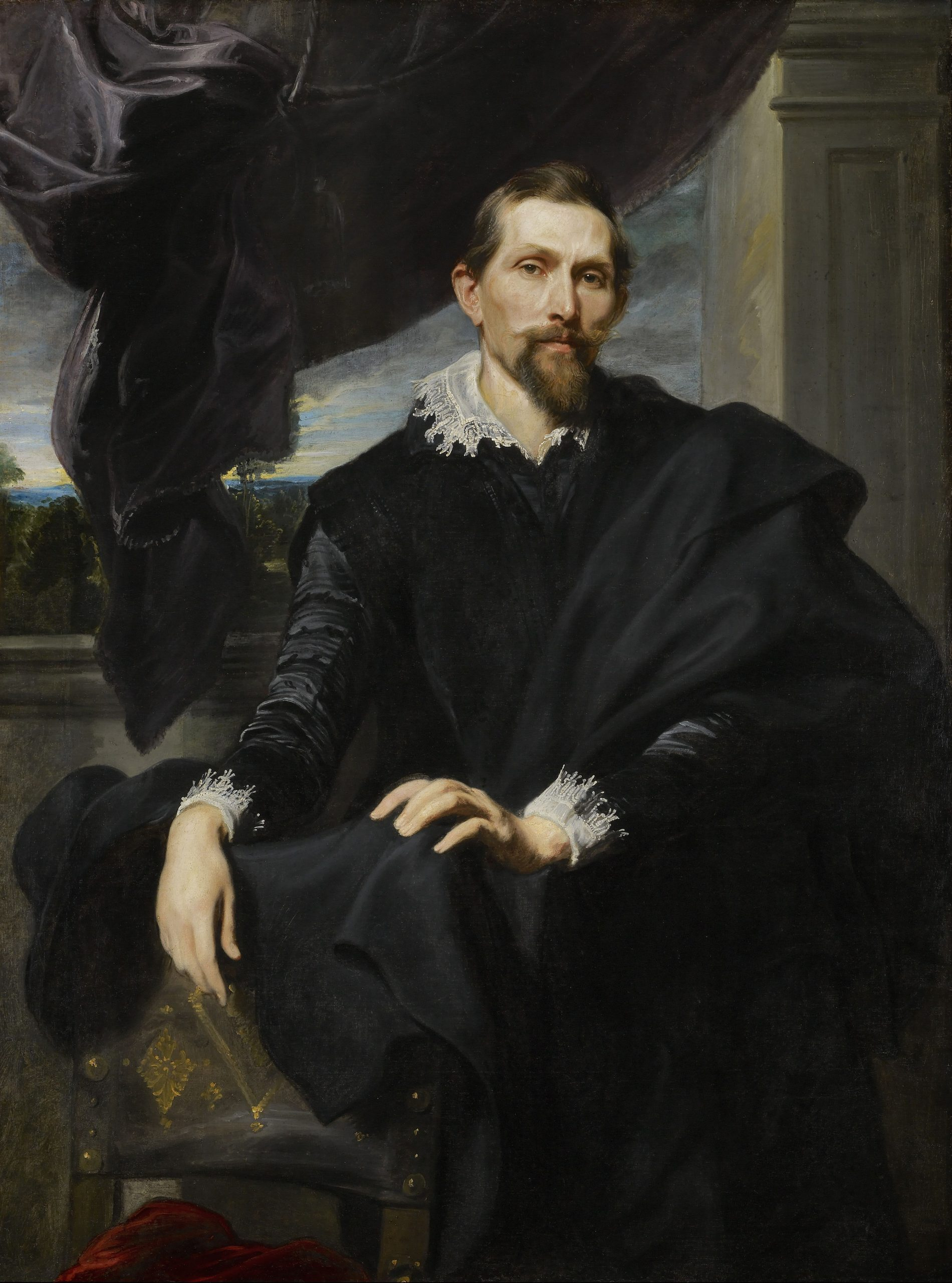 Frans Snyders, Anthony van Dyck, 1620, The Frick Collection