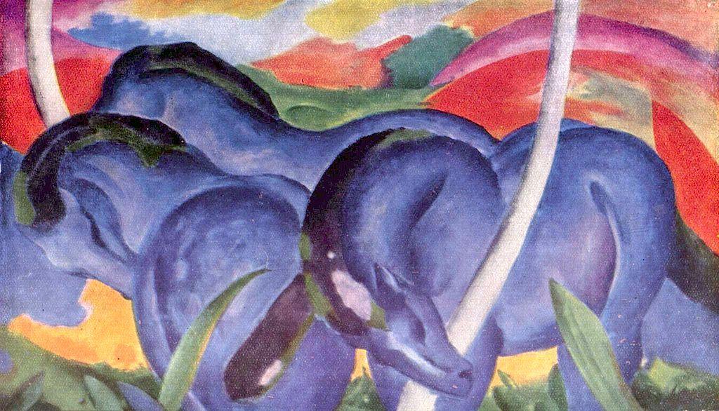 Die Grossen Blauen Pferde (The Large Blue Horses)