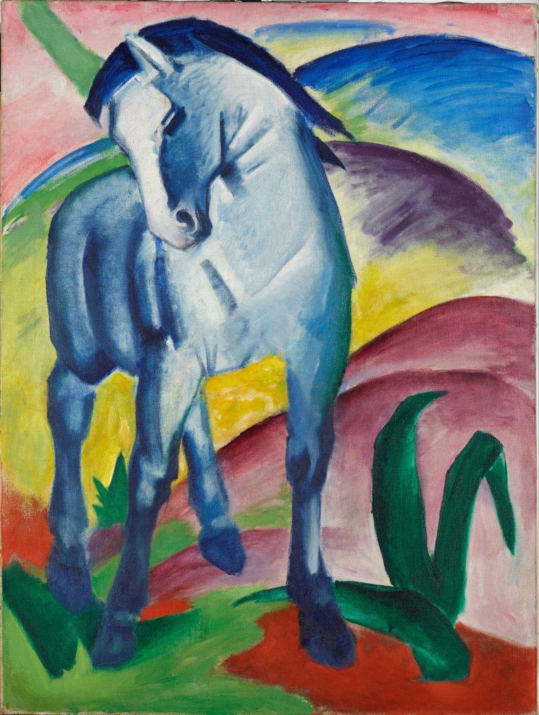 Blaues Pferd, or Blue Horse